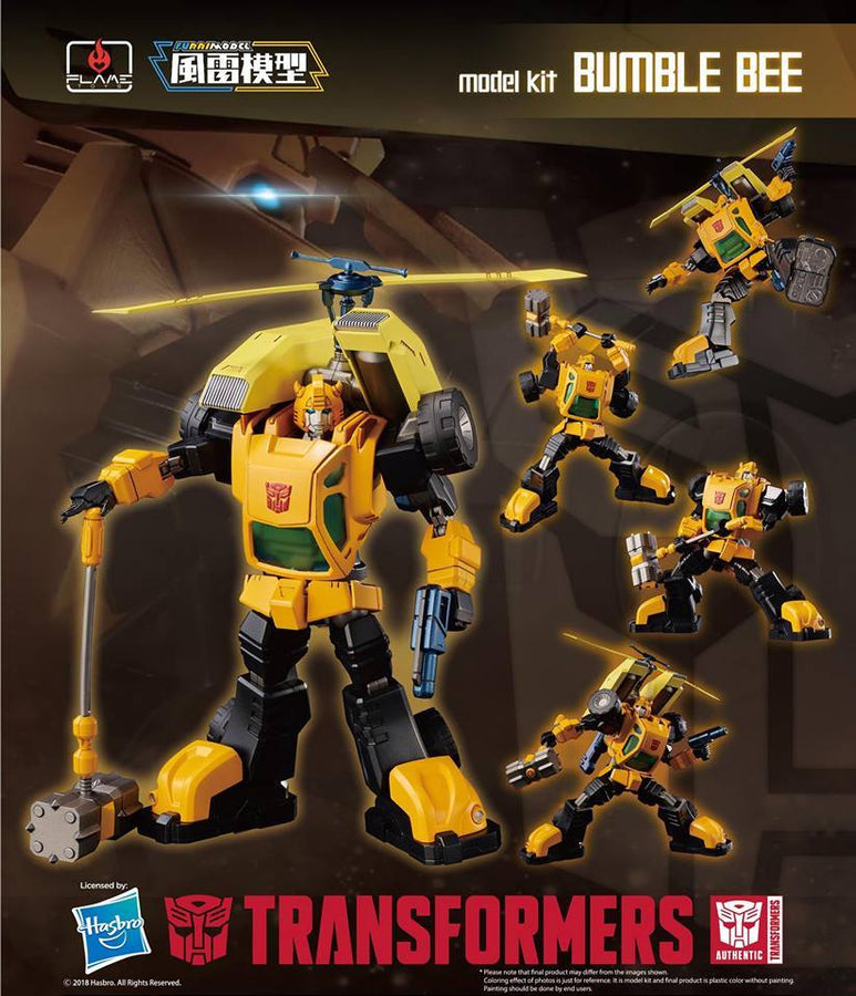 "Bumble Bee ""Transformers"", Flame Toys Furai Model"