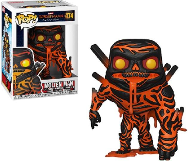 Spider-Man: Far From Home Funko Pop! Molten Man #474 W/ POP Protector