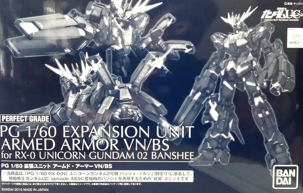 Pre-Order 1/60 PG Expansion Unit Armed Armor VN / BS P-Bandai