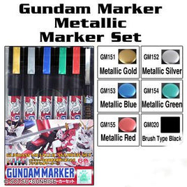 Gundam metallic marker set GMS121