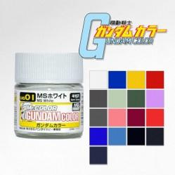 GUNDAM COLOR 10ML (SEMI-GLOSS) SERIES