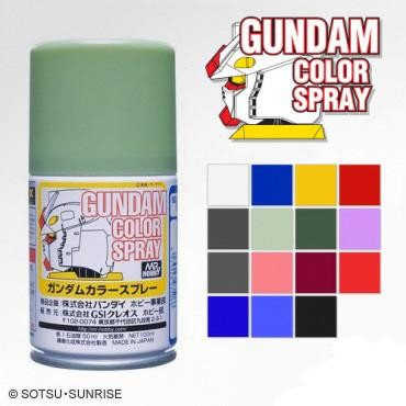 GUNDAM COLOR SPRAY 100ML (SEMI-GLOSS) SERIES