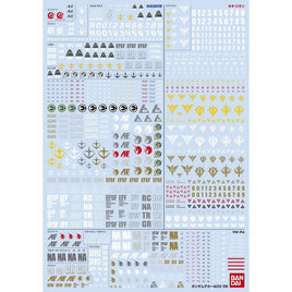 Gundam Decal DX 06 [Unicorn series Vol. 2]