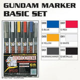GSI Gundam Markers Set - Basic Set GMS105 Builders Parts
