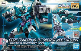 1/144 HDBD:R CORE GUNDAM (G3 COLOR) & VEETWO UNIT