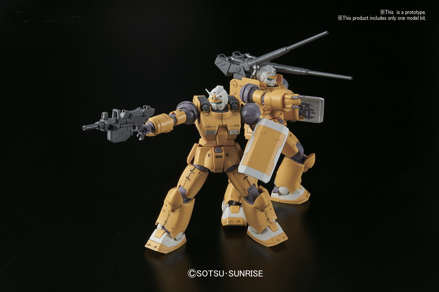 "Pre-Order Guncannon Mobility Test Type/Firepower Test Type ""Gundam The Origin"", Bandai HG 1/144"