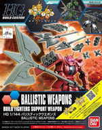 "HGBF 1/144 Ballistic Weapons ""Gundam Build Fighters"""