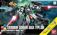 "Cherudim Gundam Saga Type. GBF ""Gundam Build Fighters"", Bandai HG 1/144"
