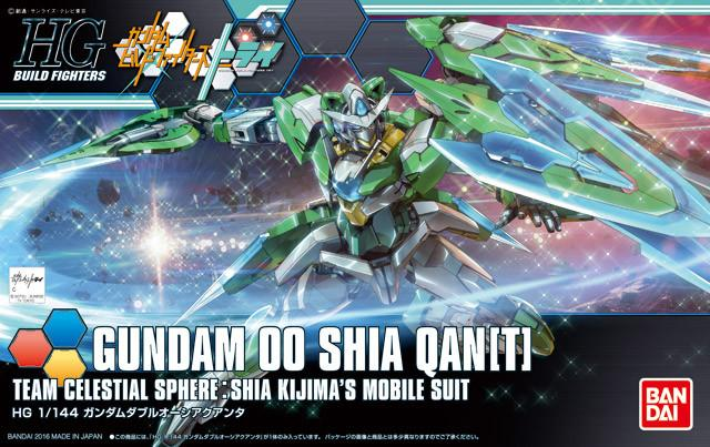 HGBF 1/144 00 Shia Qan[T] Custome
