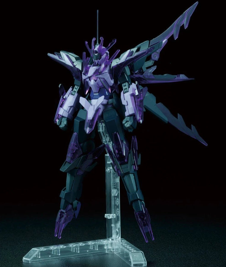 "HGBF 1/144 Transient Gundam Glacier ""Gundam Build Fighters Honoo Try"", Bandai"