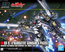 "#218 Narrative Gundam A-Packs ""Gundam NT"", Bandai HGUC 1/ 144"