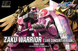 HG 1/144 #25 Zake Warrior (Live Concert Version)