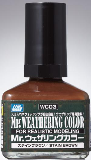 Mr. Weathering Color - Stain Brown