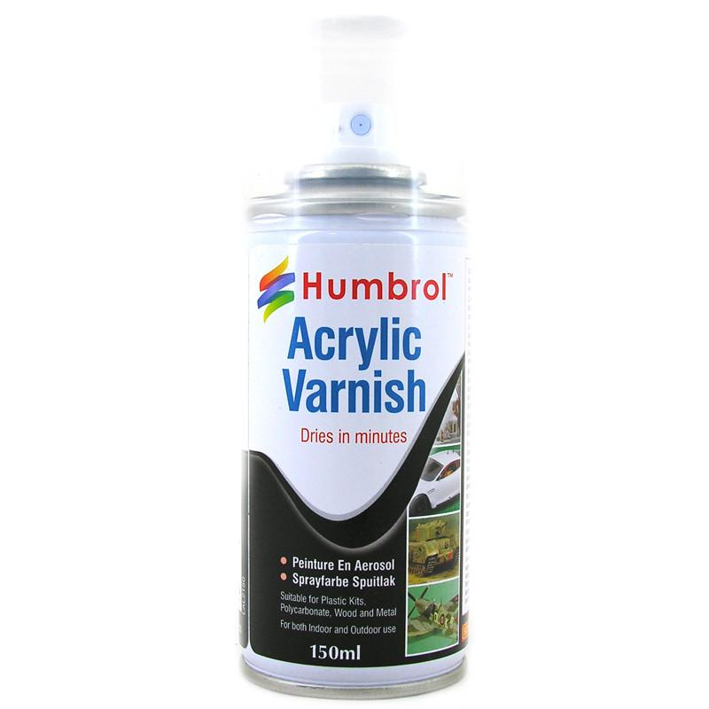 GLOSS ACRYLIC VARNISH SPRAY - Humbrol 150ml Aerosol #6035 - NEW
