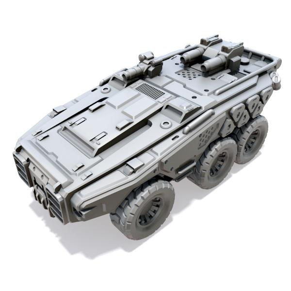 Kuángnù Assault APC