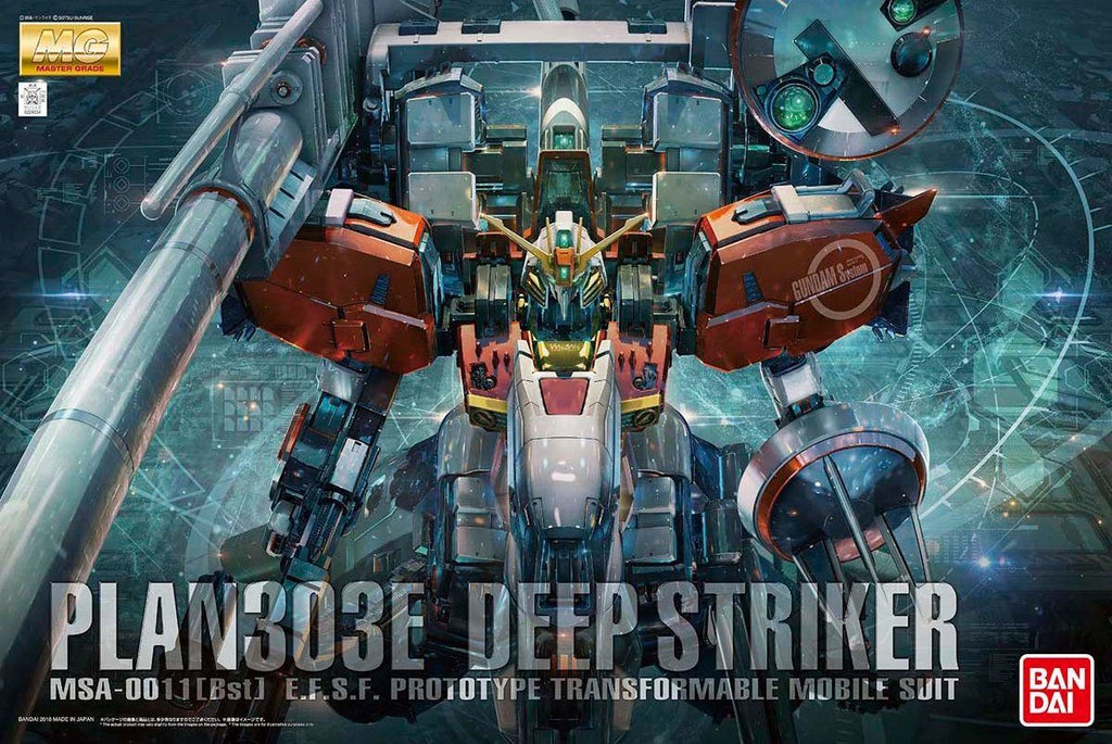 BANDAI MG 1/100 MSA-0011 DEEP STRIKER