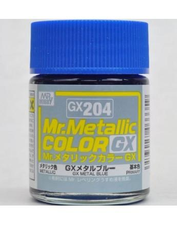 GX204 Mr.Metallic Color GX Metallic Blue