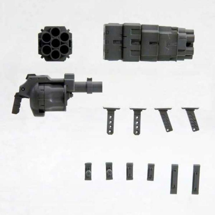 MSG WEAPON UNIT MW022 ROCKET LAUNCHER & REVOLVER LAUNCHER