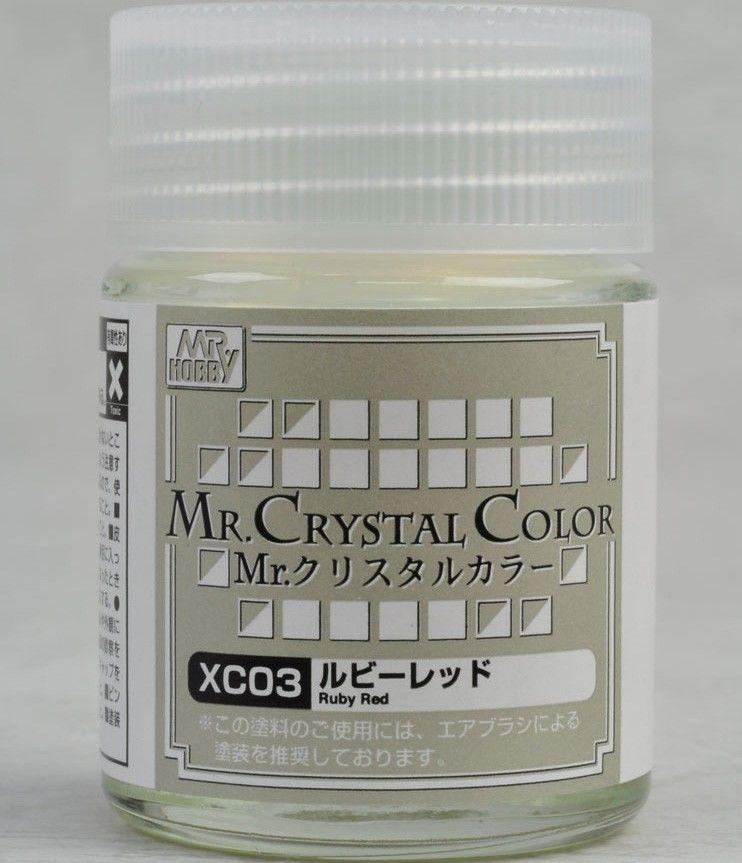 Mr Crystal Color - Ruby Red