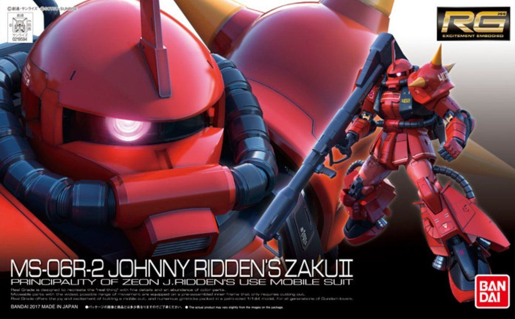 Pre-Order RG 1/144 Johnny Ridden's MS-06R-2 Zaku II High Mobility Type