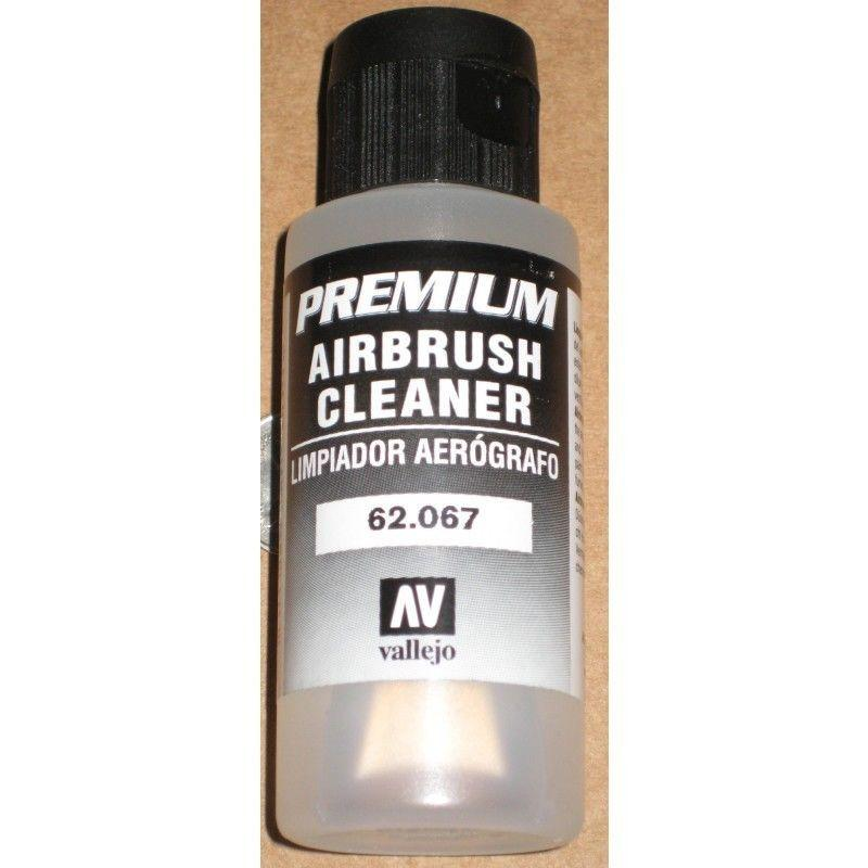 AIRBRUSH CLEANER - Vallejo Premium Model Acrylic 60ml Economy Bottle #62067