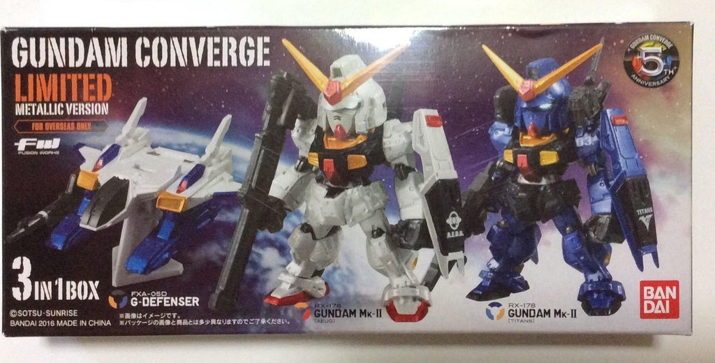 SDCC 2016 Exclusive Bandai Gundam Converge Limited Metallic Ver.