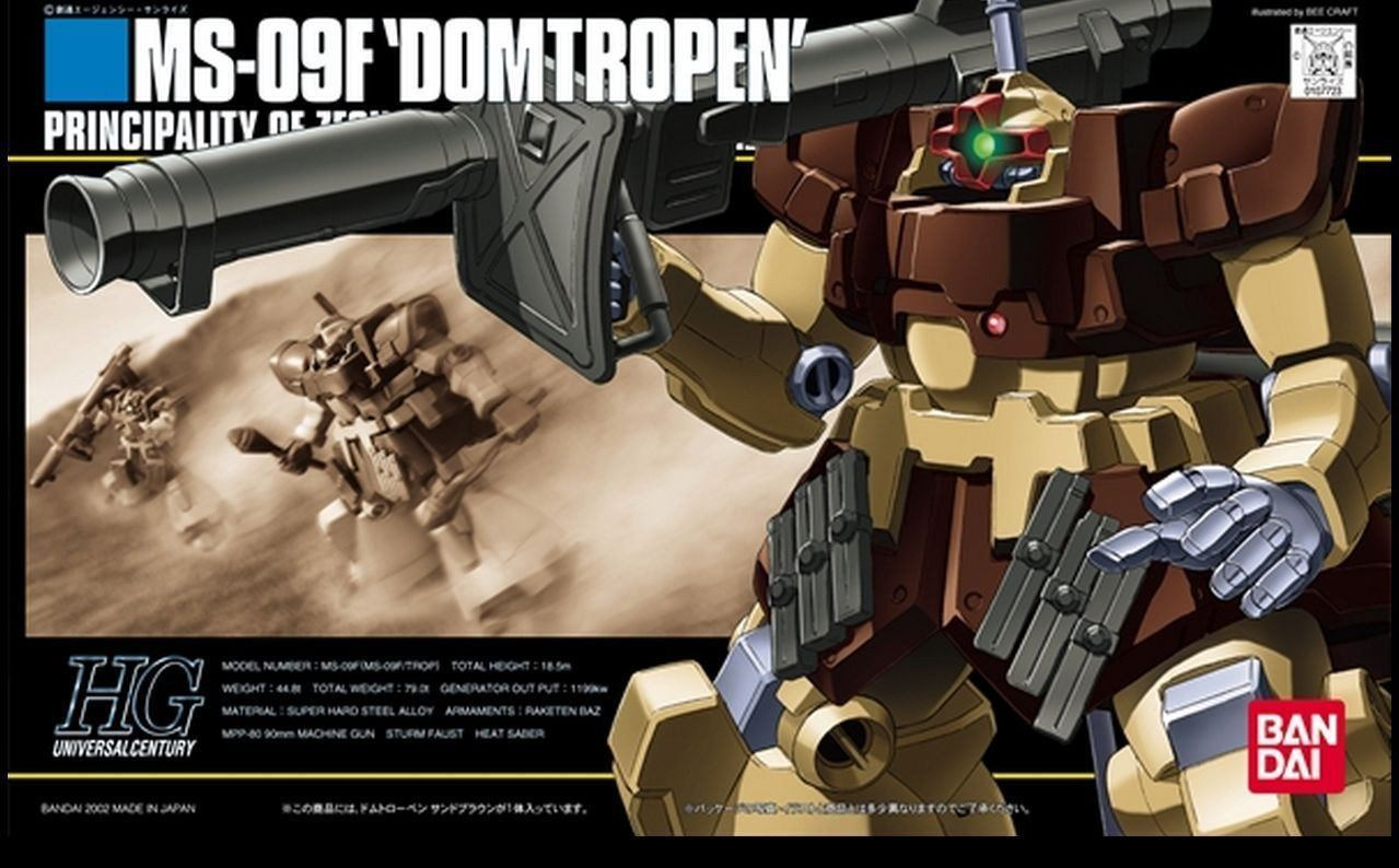 HGUC 1/144 #27 Domtropen Sand Brown