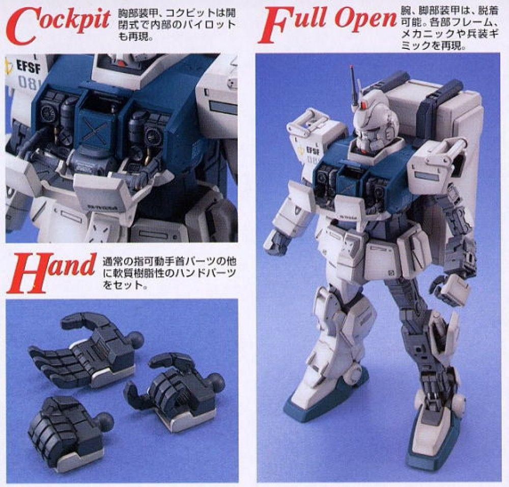 Image result for Mg 1/100 RX-79 (G) Gundam Ez8