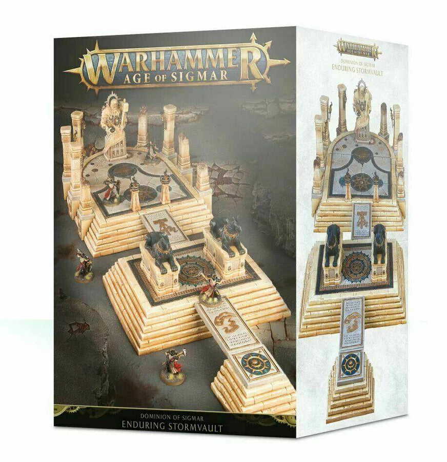Dominion of Sigmar The Enduring Stormvault Warhammer Age NIB