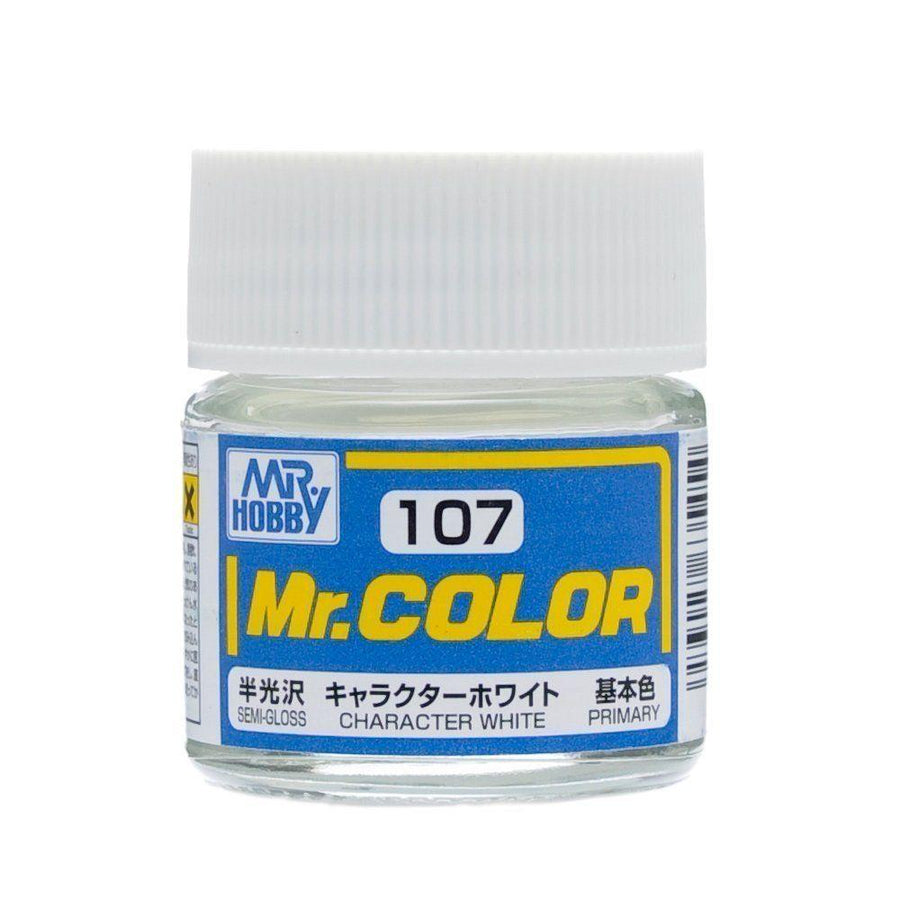 GNZ-C107: C107 Semi Gloss Character White 10ml