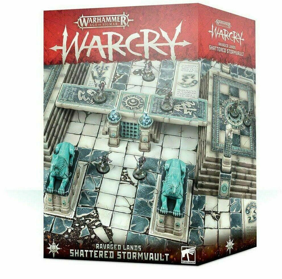 Warcry Ravaged Lands: Shattered Stormvault - Warhammer AoS