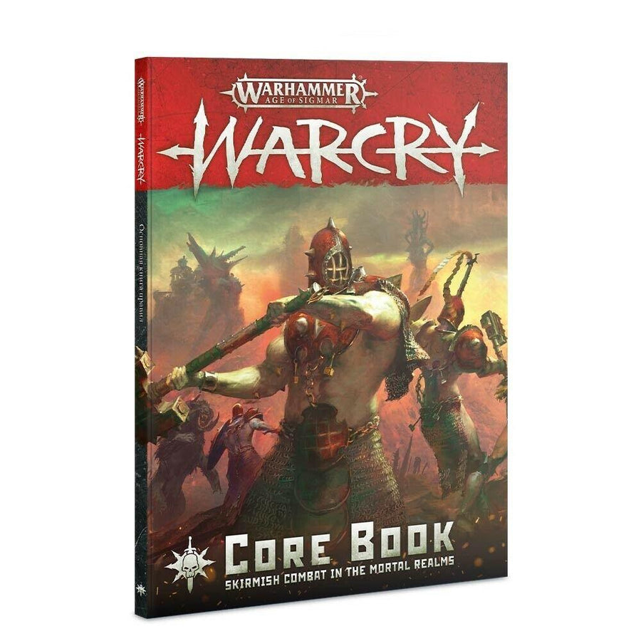 Warcry Core Book Warhammer Age of Sigmar NEW