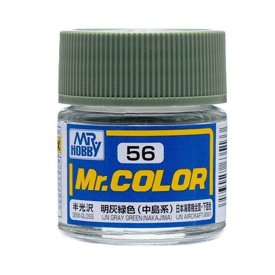 GNZ-C56: C56 Semi Gloss IJN Gray Green - Nakajima 10ml