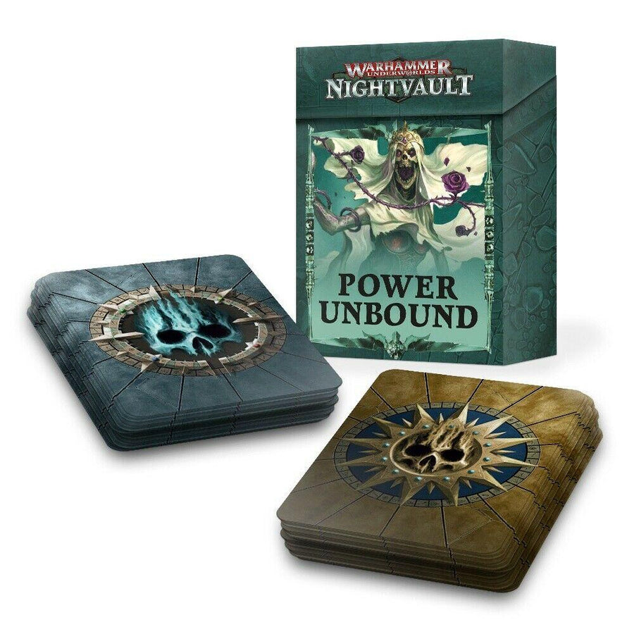 Warhammer Underworlds Nightvault Power Unbound Cards 110-58-60