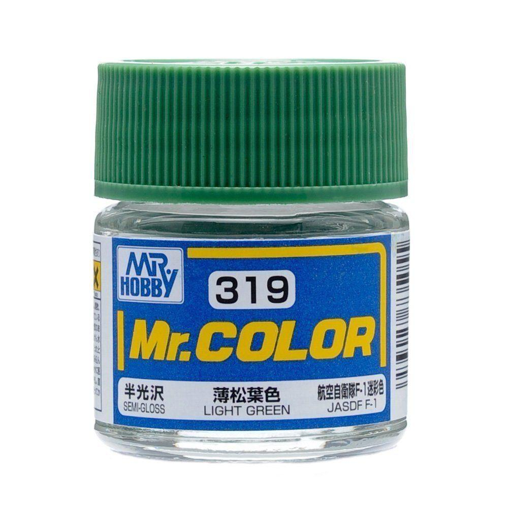 GNZ-C319: C319 Semi Gloss Light Green 10ml