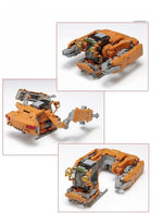 Space Pod Crab 03 (Orange & Clear Orange Set) From Wave 2013 set