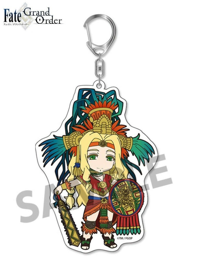 Pic-Lil! Pikuriru Fate/Grand Order Trading Acrylic Keychain 5 Rider Quetzalcoatl