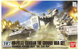 HGUC 1/144 RX-79G Gundam The Ground War Set