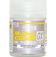 GX110 Mr.Color GX Clear Silver