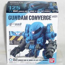 GUNDAM CONVERGE #124 Mobile Worker MW-01 blue