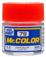 GNZ-C79: C79 Gloss Shine Red 10ml