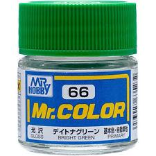 GNZ-C66: C66 Gloss Bright Green 10ml