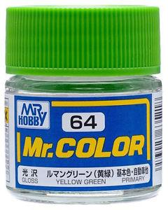 GNZ-C64: C64 Gloss Yellow Green 10ml
