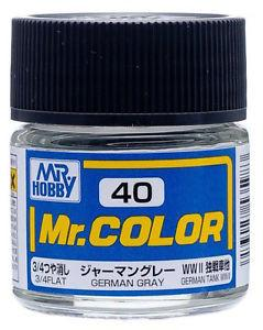 GNZ-C40: C40 Flat German Gray 10ml