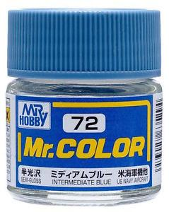 GNZ-C72: C72 Semi Gloss Intermediate Blue 10ml