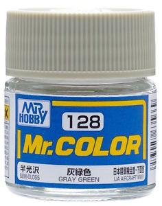 GNZ-C128: C128 Semi Gloss Gray Green 10ml