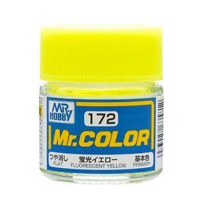 GNZ-C172: C172 Semi Gloss Fluorescent Yellow 10ml