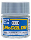 GNZ-C308: C308 Semi Gloss Gray FS36375 10ml
