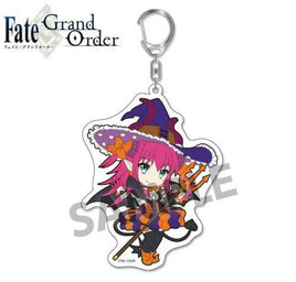 Pic-Lil! Fate/Grand Order Trading Acrylic Keychain 4 Caster Elizabeth Halloween