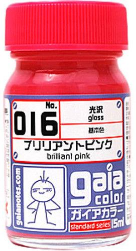 Gaia Base Color 016 Gloss Brilliant Pink 15ML